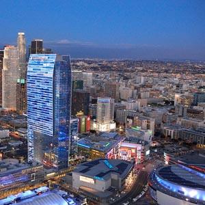 LA Live & Staples Center
